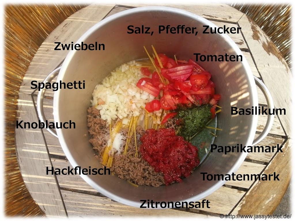 One Pot Pasta - Variation 2 mit Hackfleisch - Was du nicht kennst...