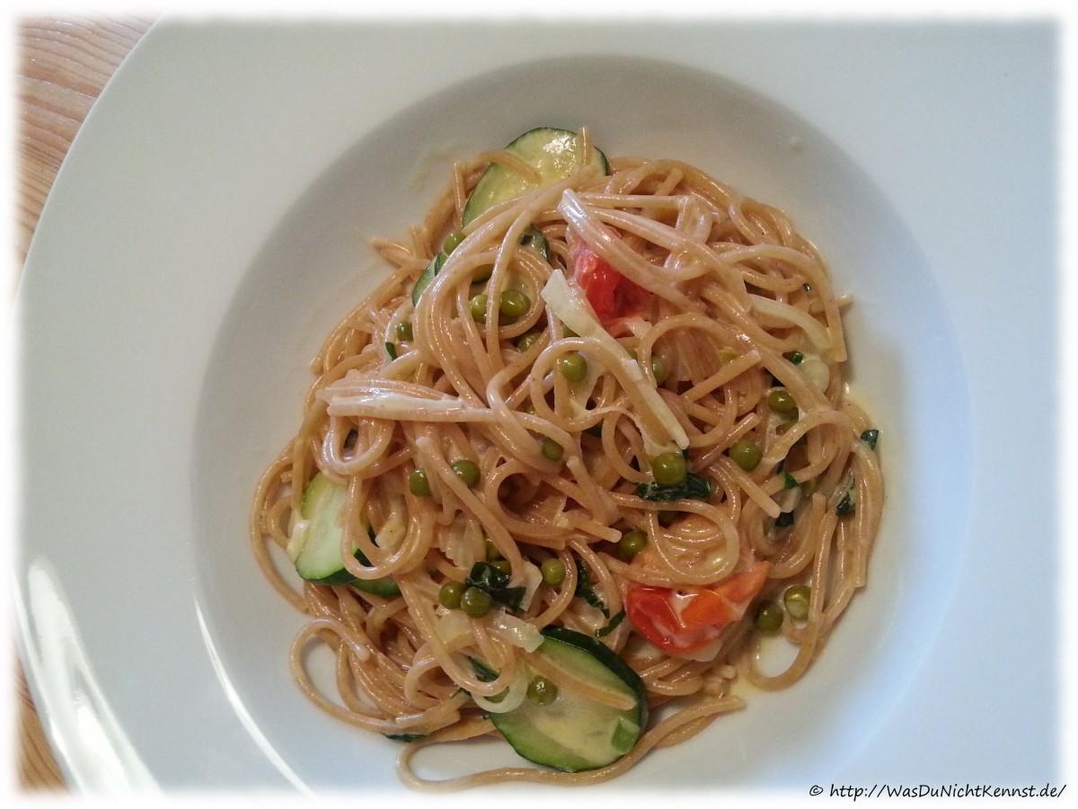 One Pot Pasta - Variation mit Sahne - Was du nicht kennst...