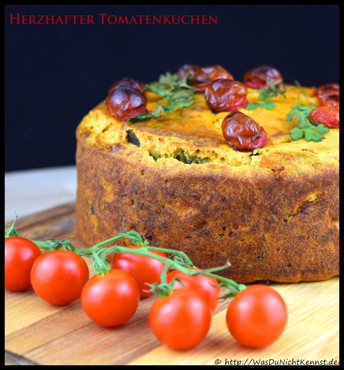 Herzhafter Tomatenkuchen dank dem Genuss aus der Tube von Deli Reform - Was du nicht kennst...