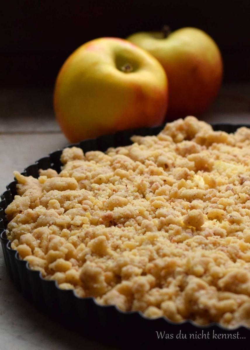 Streuselkuchen mit Apfel – Apple Crumble - Was du nicht kennst...