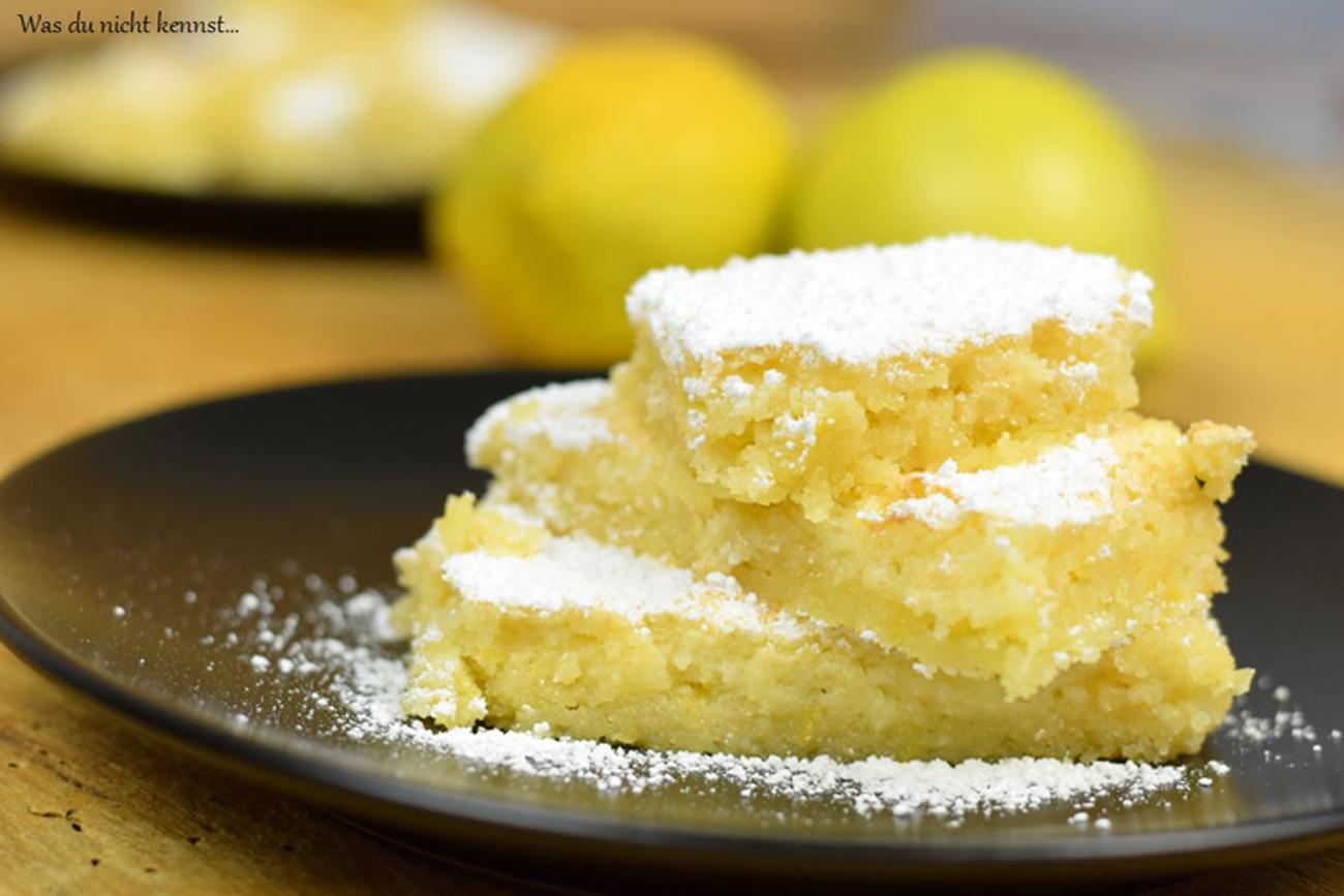 Zitronenschnitten - Was du nicht kennst...
